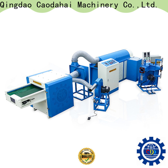 efficient ball fiber filling machine factory for production line