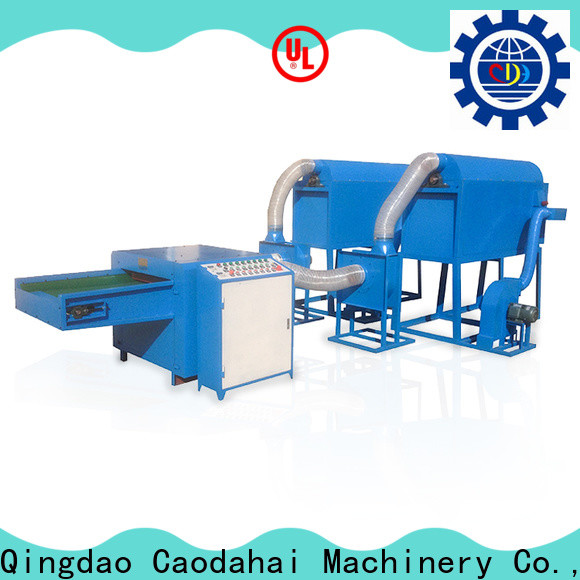 top quality ball fiber filling machine design for work shop