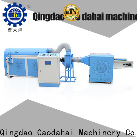 Caodahai ball fiber stuffing machine factory for production line