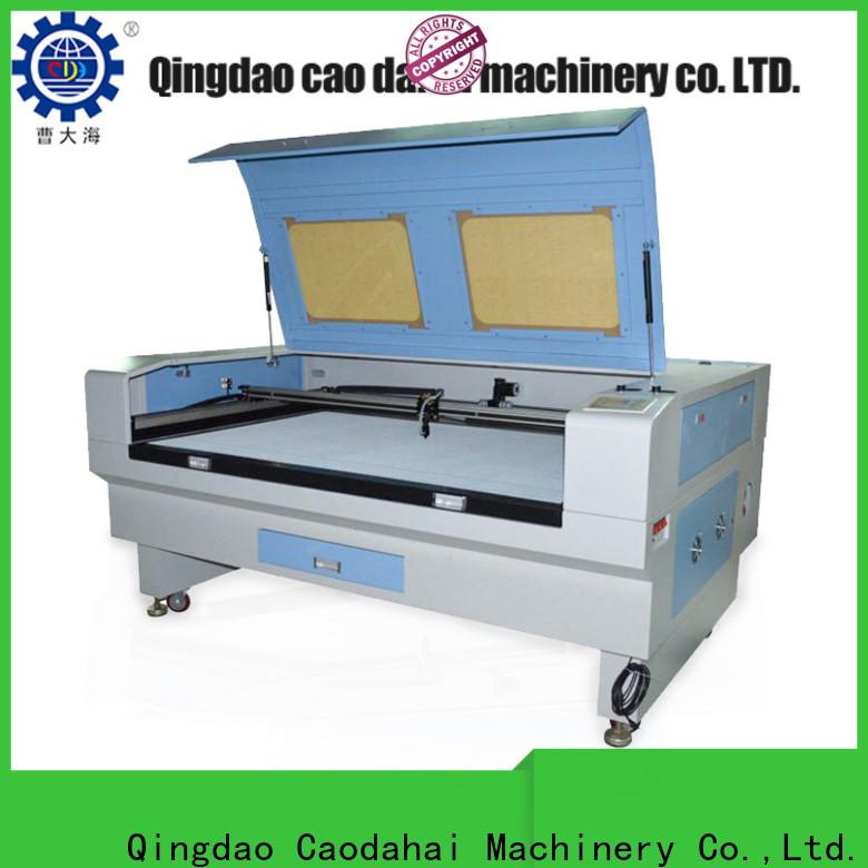 Caodahai hot selling fiber laser cutting machine customized for soft toy
