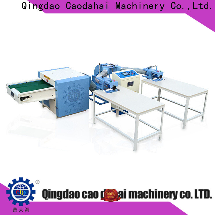 fiber opening and pillow filling machine factory price for production line
