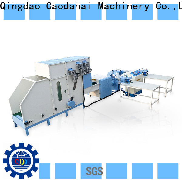 Caodahai fiber opening and pillow filling machine supplier for work shop