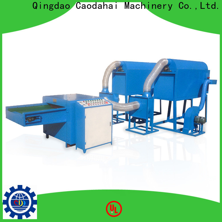 Caodahai efficient ball fiber toy filling machine factory for work shop