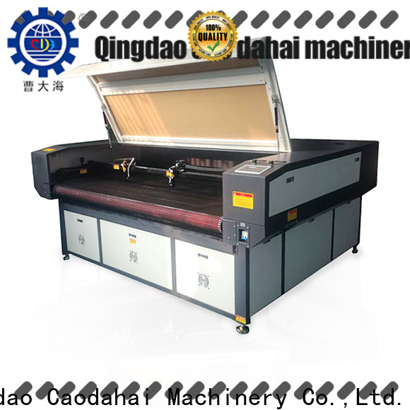 Caodahai fabric laser cutting machine from China for business