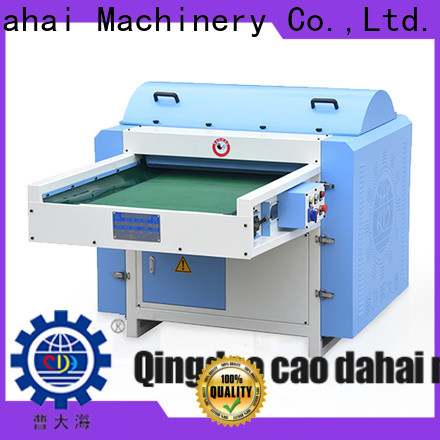 top quality polyester opening machine design for commercial