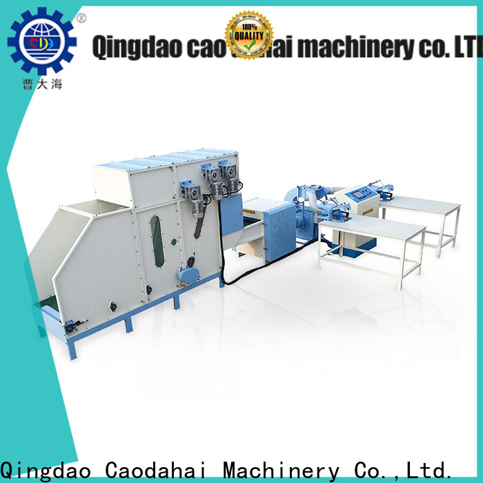 quality pillow stuffing machine factory price for work shop