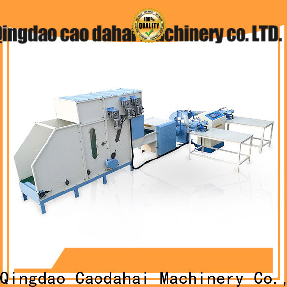 quality pillow filling machine supplier for work shop