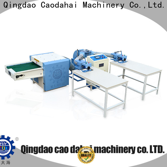 Caodahai pillow stuffing machine supplier for production line