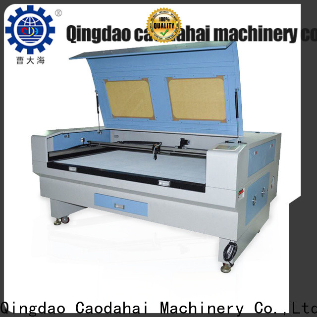 Caodahai fabric laser cutting machine from China for work shop