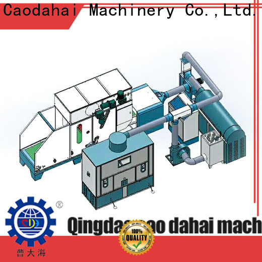 Caodahai top quality fiber ball pillow filling machine factory for business