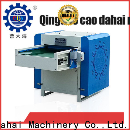 Caodahai top quality polyester fiber opening machine design for manufacturing