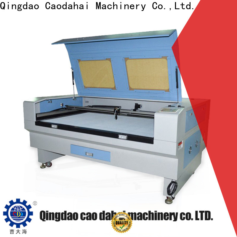 Caodahai hot selling co2 laser machine from China for soft toy