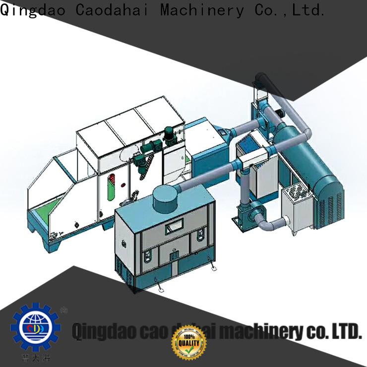 Caodahai efficient ball fiber stuffing machine factory for production line