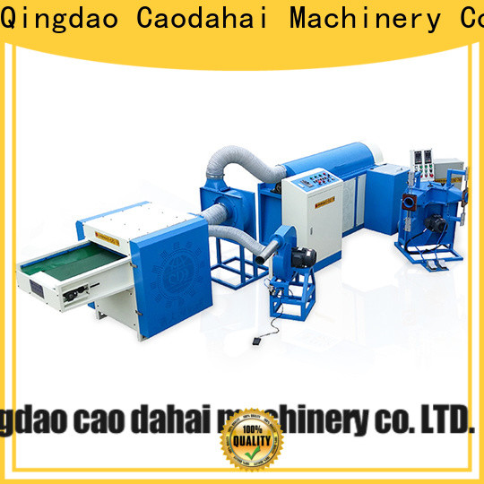 Caodahai excellent ball fiber making machine with good price for work shop