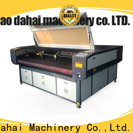 Caodahai co2 laser cutting machine from China for soft toy