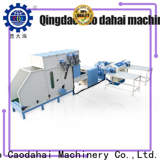 Caodahai pillow manufacturing machine supplier for work shop