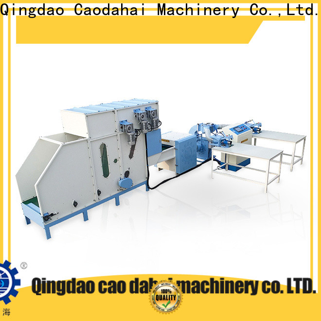 Caodahai sturdy pillow filling machine price factory price for production line