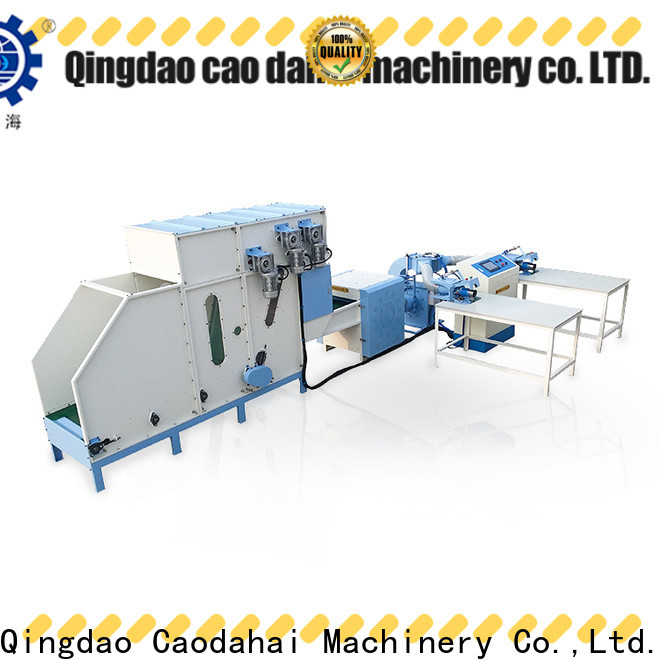 Caodahai pillow stuffing machine factory price for plant