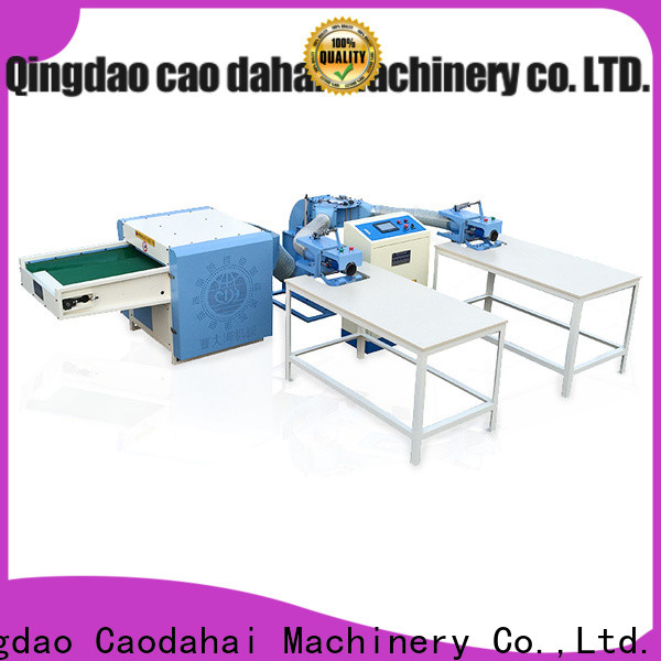 Caodahai stable fiber opening and pillow filling machine supplier for work shop