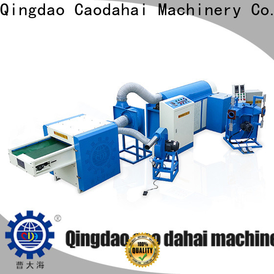 Caodahai approved fiber ball pillow filling machine inquire now for work shop
