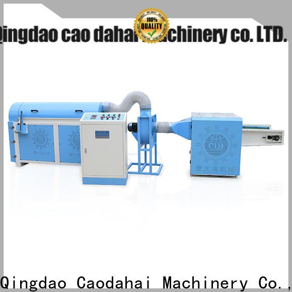 Caodahai ball fiber stuffing machine design for production line