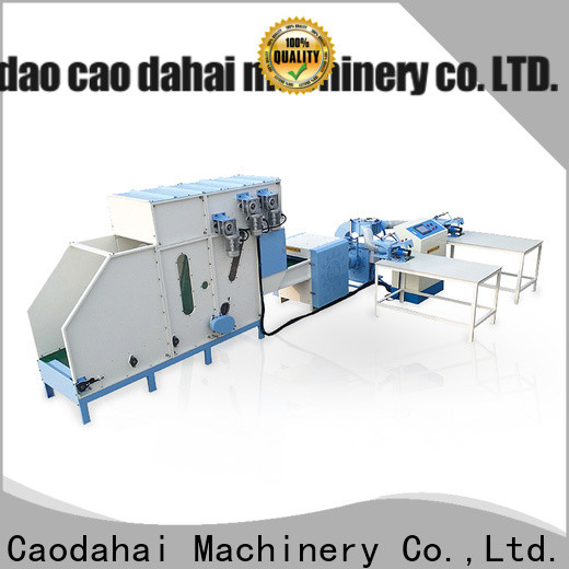 certificated pillow stuffing machine personalized for plant