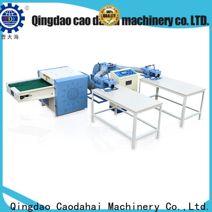 Caodahai certificated pillow filling machine supplier for work shop