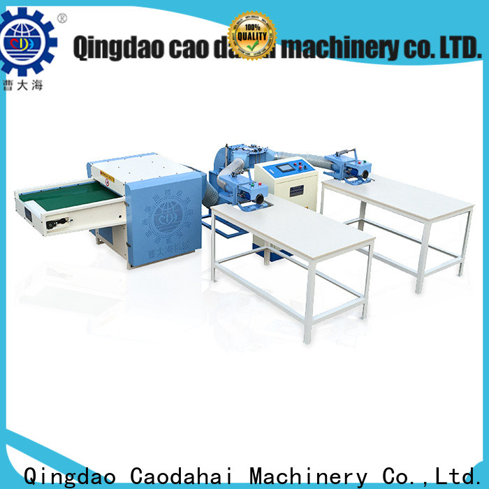 Caodahai certificated pillow filling machine supplier for work shop