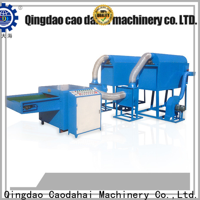 Caodahai fiber ball pillow filling machine with good price for work shop