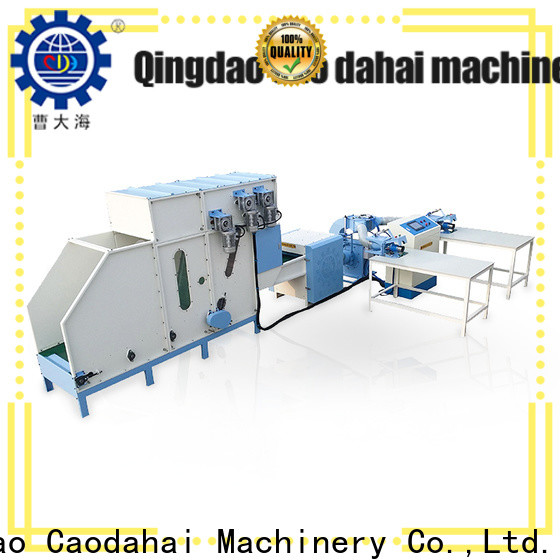 Caodahai pillow filling machine price supplier for work shop