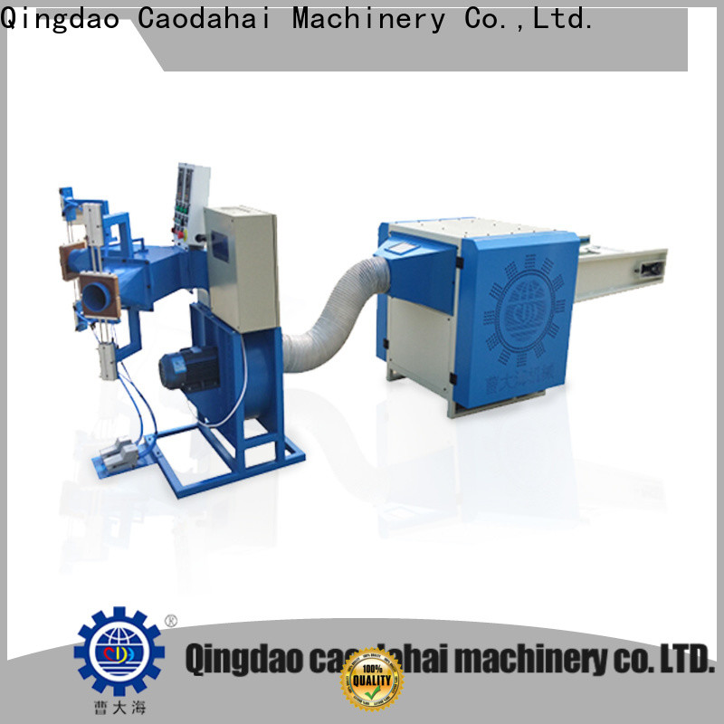 certificated automatic pillow filling machine personalized for work shop