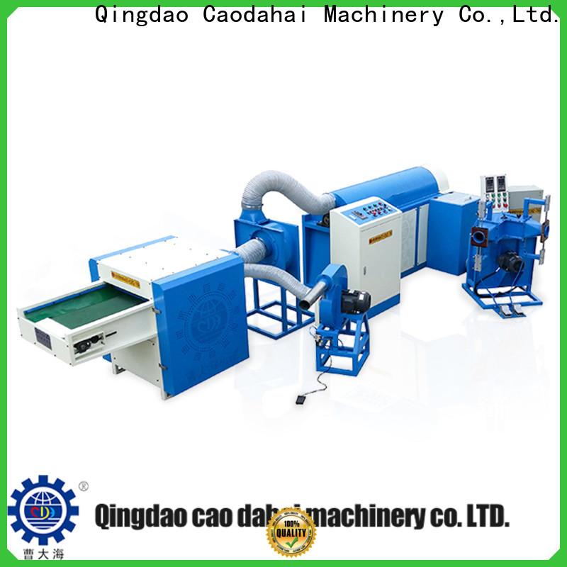 Caodahai ball fiber filling machine design for work shop