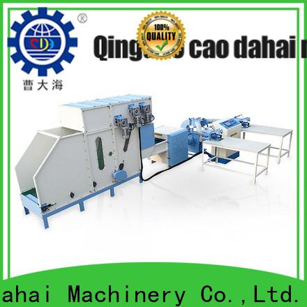 Caodahai pillow stuffing machine supplier for work shop