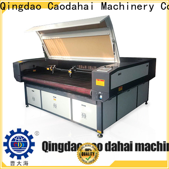 Caodahai co2 laser cutting machine from China for production line