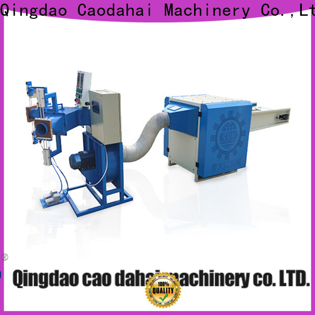 Caodahai certificated automatic pillow filling machine wholesale for work shop