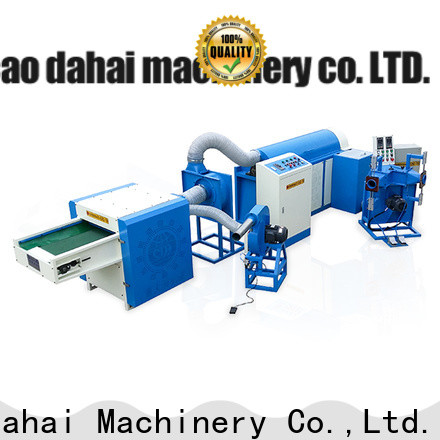 cost-effective fiber ball pillow filling machine design for plant