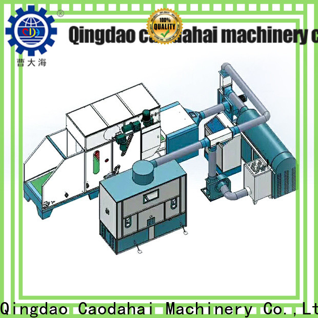 Caodahai approved ball fiber stuffing machine inquire now for business