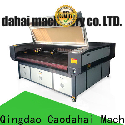 Caodahai cnc laser cutting machine customized for soft toy