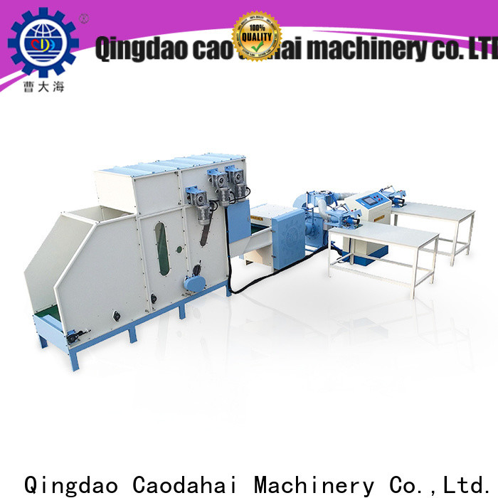 Caodahai fiber opening and pillow filling machine personalized for plant