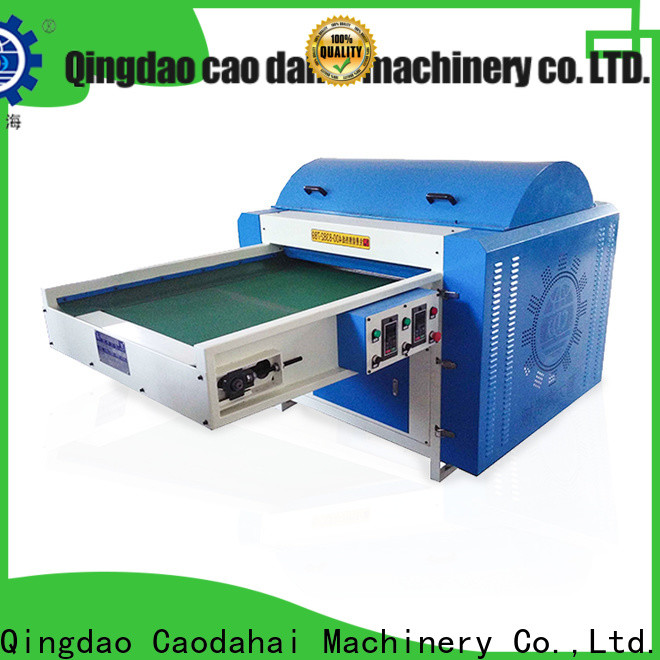 cost-effective polyester fiber opening machine design for commercial