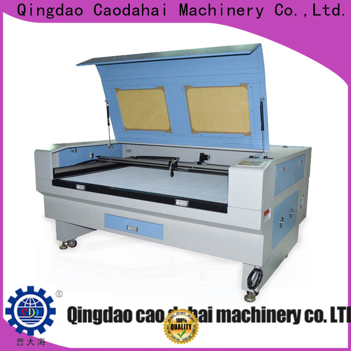 Caodahai fiber laser cutting machine directly sale for soft toy