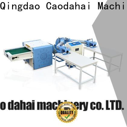 Caodahai automatic pillow filling machine wholesale for work shop