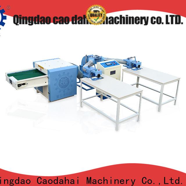 Caodahai automatic pillow filling machine supplier for work shop