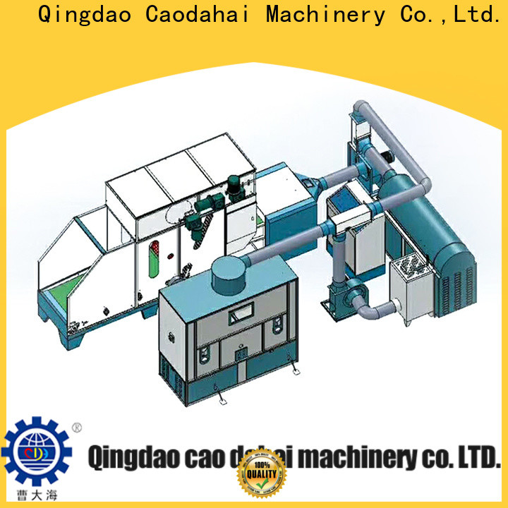 Caodahai excellent ball fiber toy filling machine factory for production line