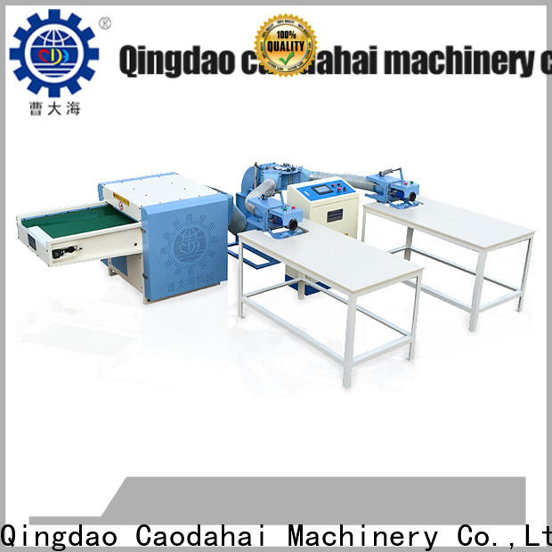 certificated pillow stuffing machine factory price for plant