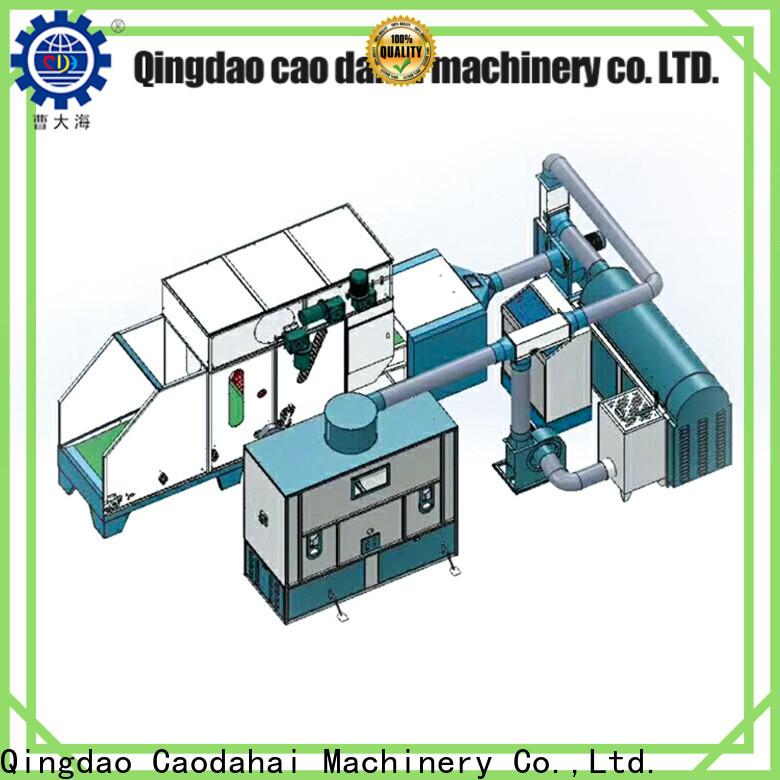 Caodahai excellent fiber ball pillow filling machine factory for work shop