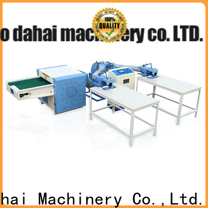 certificated fiber opening and pillow filling machine factory price for plant