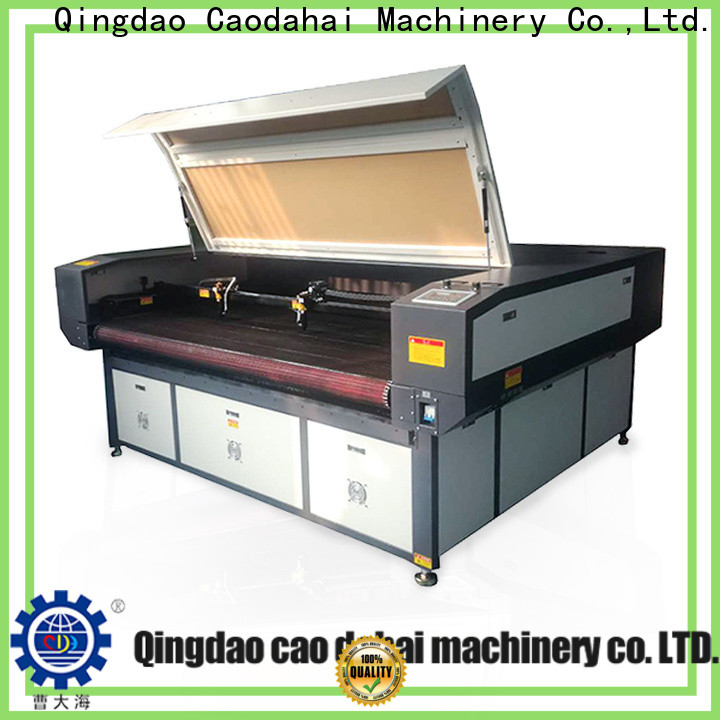 quality co2 laser cutting machine customized for work shop
