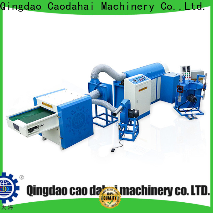 Caodahai ball fiber stuffing machine design for plant