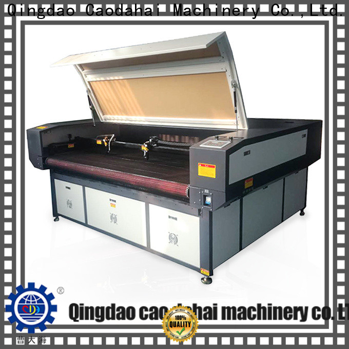 Caodahai durable fabric laser cutting machine customized for production line